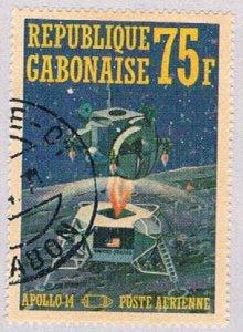 Gabon C108E Used Space 1971 (BP3585)
