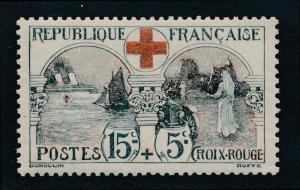 France B11 Mint NH, Military, Medicine, Red Cross, War Orphans