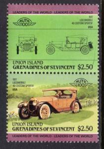 St Vincent Grenadines Union Island 162 Cars MNH VF