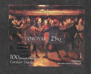 Faroe Islands 438 Mint NH MNH Souvenir Sheet!
