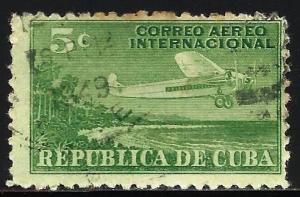 Cuba 1931 Air Mail Scott# C4 Used