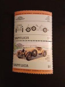 ^St. Lucia #741               MH