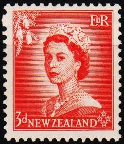 New Zealand. 1953 3d S.G.727 Mounted Mint