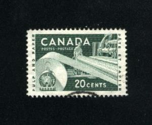 Canada  362  -3  used VF PD 1956