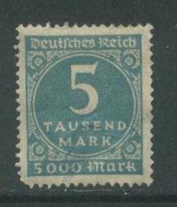 Germany 238A  MHH