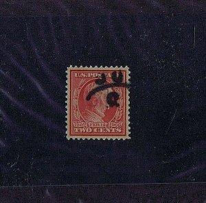 SC# 369 USED 2 CENT LINCOLN, 1909, PSAG CERT GRADED 95 XF-S, HIGH CATALOG VALUE