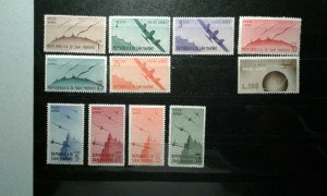 San Marino #C41-51 MNH e206 9665