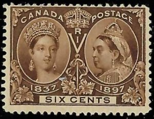 Canada #55 Mint F-VF NH -- Jubilee