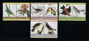 GRENADA-GRENADINES UNION IS. SCOTT #186-189 1985 BIRDS  MINT NEVER HINGED