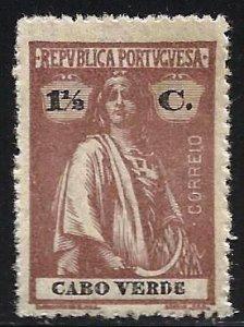 Cape Verde 1914 Scott# 147 MNG