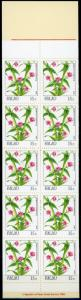 Palau #131a Flowers Full Booklet MNH