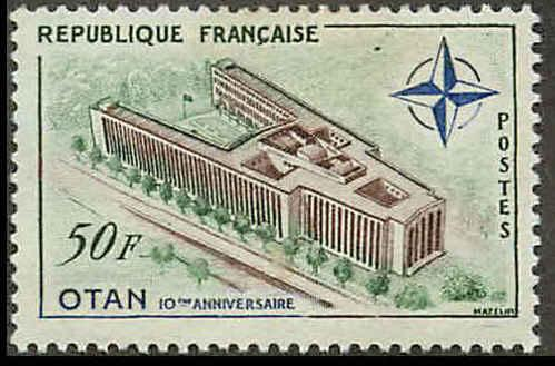 France 937 Mint VF DG