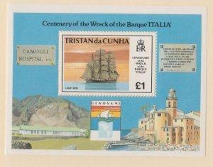 Tristan Da Cunha Scott #520 Stamps - Mint NH Souvenir Sheet