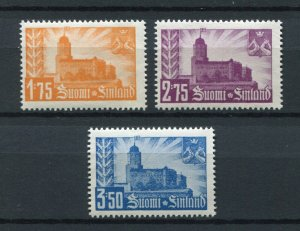 FINLAND WW2 OCCUPATION OF RUSSIA KARELIA VIIPURI CASTLE SET PERFECT MNH