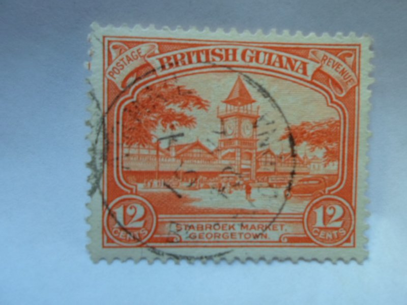british guiana stamP USED NO HINGE # 5