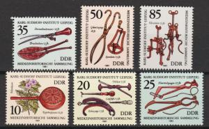 East Germany - 1981 Historic Medical Instruments - MNH(8937)