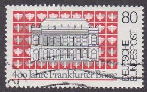 Germany # 1447, Frankfurt Stock Exchange, Used