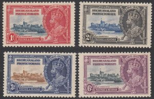 Bechuanaland Protectorate 117-120 MH CV $15.75
