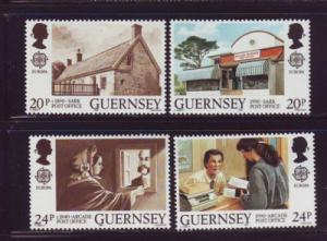 Guernsey Sc 422-5 1990 Europa stamp set mint NH
