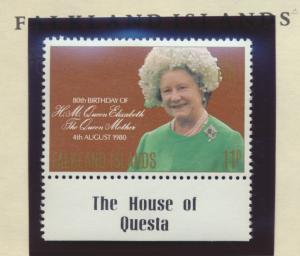 Falkland Islands Stamp Scott #305, Mint Never Hinged - Free U.S. Shipping, Fr...