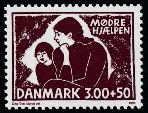 Denmark B73 MNH Council for Unwed Mothers