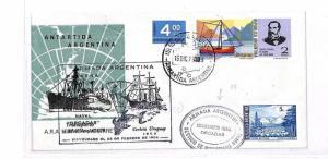 GG213 1977 ANTARTCTIC *Armada Argentina* POLAR Maritime Cover SOUTH ATLANTIC