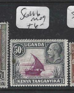 KENYA, UGANDA, TANGANYIKA   (PP0106B)  KUT  50C BOAT  SG 116   MOG