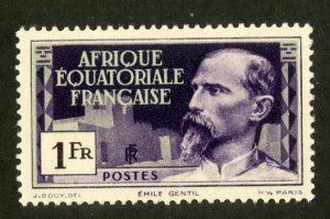 FRENCH EQUATORIAL AFRICA 56 MH SCV $2.40 BIN $1.10 PERSON