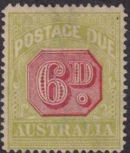 Australia 1931-1936 SC J62 MNG