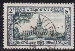 LAOS [1951] MiNr 0009 ( O/used )