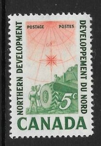 CANADA SG517 1961 NORTHERN DEVELOPMENT MNH