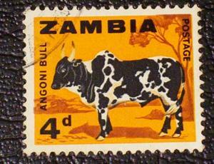 Zambia Scott #8 used