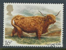 GB SG 1240 SC# 1044 - Used First Day Cancel - Cattle