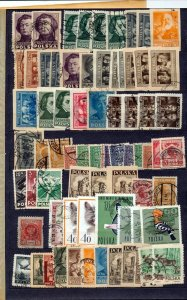 POLAND Early/Modern Used Accumulation (Apprx 300 Items)Seq 373