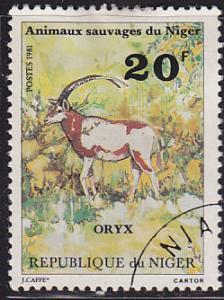 Niger 538 Wild Animals of Niger 1981