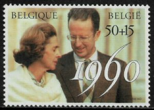 Belgium #B1095 MNH Stamp - Wedding Anniversary