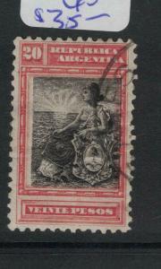Argentina SC 142 VFU (8dvv)