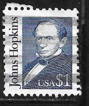 USA 2194e: $1 Johns Hopkins, used, VF