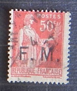 France, 1933 French Postage Stamp No.268 Overprinted, (1761-Т)