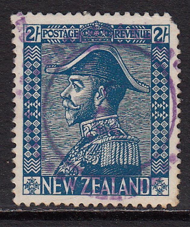 New Zealand #182a, used, CV$ 62.00
