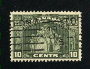 Canada #209   used   VF  PD
