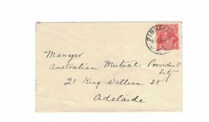 APH1475) Australia 1932 2d Red KGV Die I Small Cover
