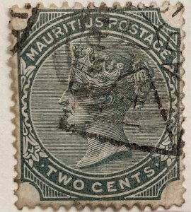 AlexStamps MAURITIUS #59 VF Used