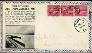 #681 PL#1A U.S. FIRST DAY COVER ROESSLER CACHET BM9425