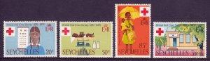 Seychelles - Scott #276-279 - MNH - SCV $3.80