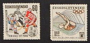 Czech Republic, Sport, Olympian Games, 1972, Czechoslovakia, №1115-Т