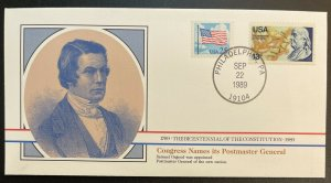 US #2278,1690 On Cover - Bicentennial of Constitution 1787-1987 [BIC71]