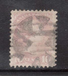 Canada #40e VF Used **With Certificate**