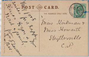 SOUTH AFRICA Cape of Good Hope - POSTAL HISTORY - POSTCARD from STELLENBOCH 1911
