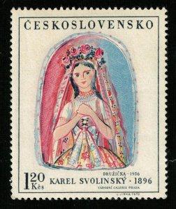 Art of 1956, Karl Svolinsky - 1896, MNH **, 1.20 Kcs (T-6819)